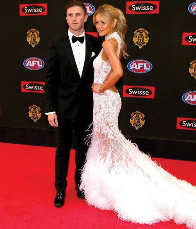 AFL brownlow red carpet